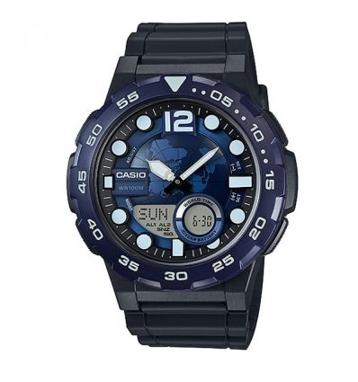 Мужские часы Casio AEQ-100W-2AVDF