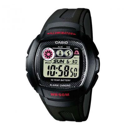 Мужские часы Casio W-210-1CVEF